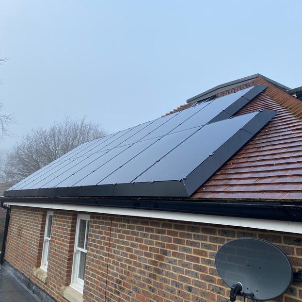 SolaSkirt solar panel pigeon proofing installation