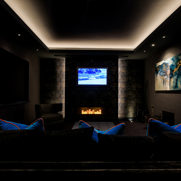 Dim out Lutron blinds