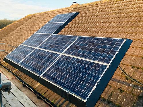 25m Solar Skirt Kit incl 4 corner kits and 18 single length kits