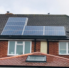 Makes PV systems look better and keeps out pests!