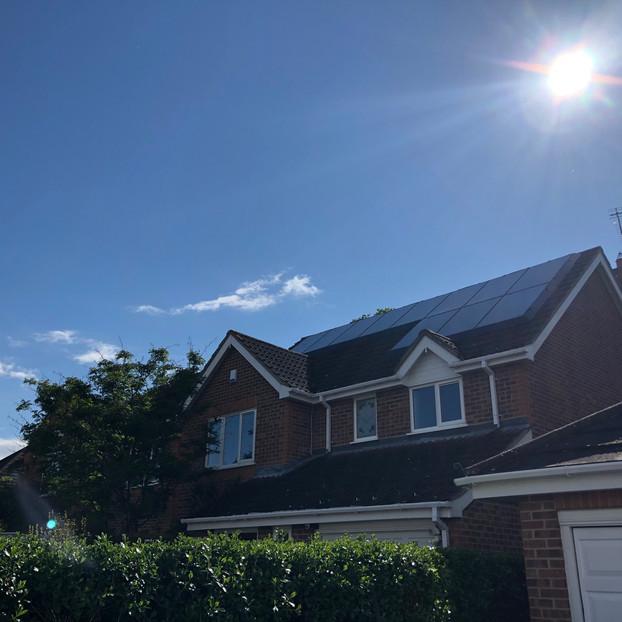 solaskirt - Solar panel pigeon proofing