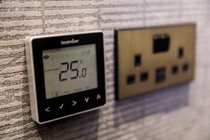 Control4 heating control