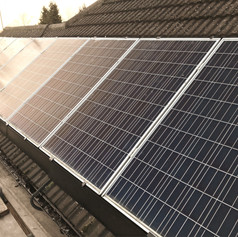 Solar skirt on 8-panel system