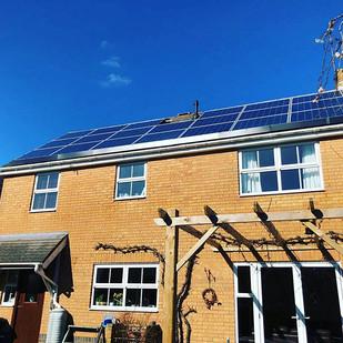 Solar Panel pigeon proofing