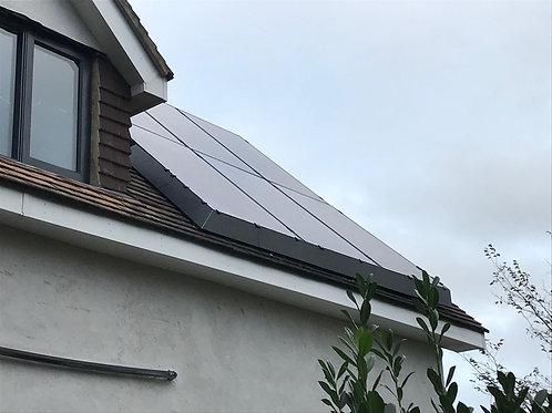 Solar Skirt Corner Kit - Black