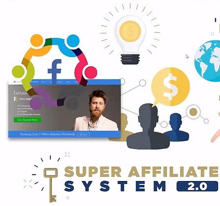 Super Affiliate System - Webinar By John Crestani