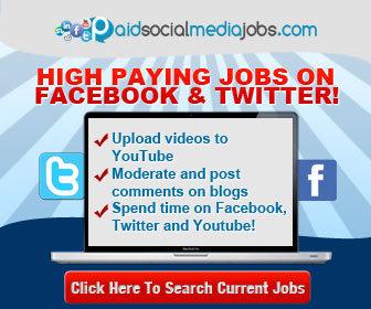 Paid Social Media Job