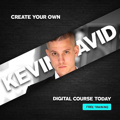 Digital Course Secrets - Webinar By Kevin David