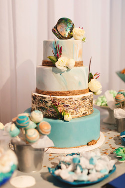 Abalone Seashell Cake
