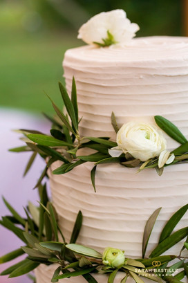 Olive Branch Wedding Cake