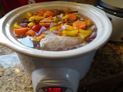 Crock Pot with FLAVOR.