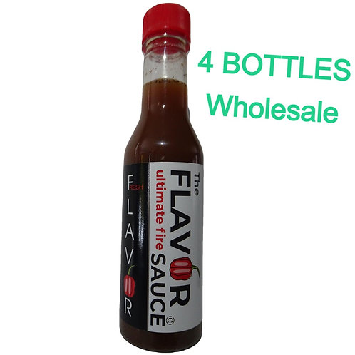 (4) 5oz Bottles Wholesale (FREE SHIPPING)