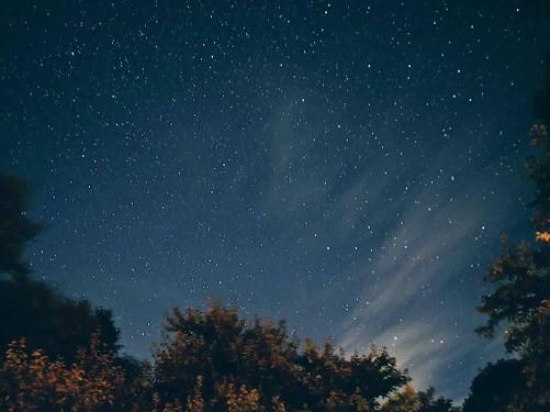ペンション凛からみた星空