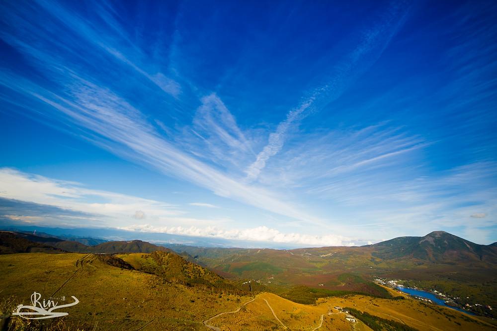 2016車山高原山頂から撮影