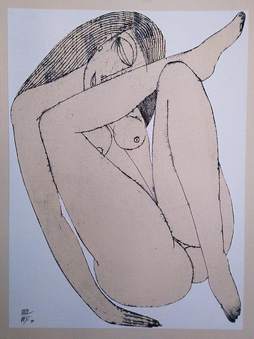 """www.artandculture.pl Rafał Kostrzewa """"Akt wieczorem"""""""