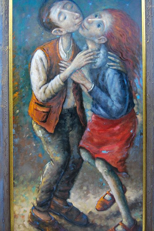 """Dariusz Miliński """"Pocałunek"""""""