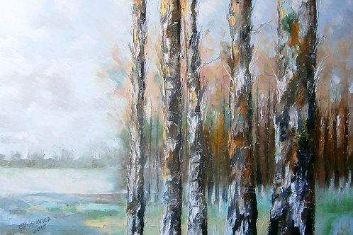 """Krzysztof Kłosowicz """"Na skraju lasu"""""""