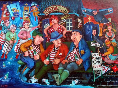 ART&CULTURE galeria sztuki Jacek Lipowczan Electors
