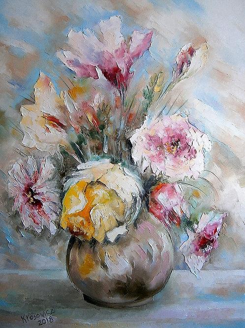 """Krzysztof Kłosowicz """"Kwiaty w wazonie V"""""""