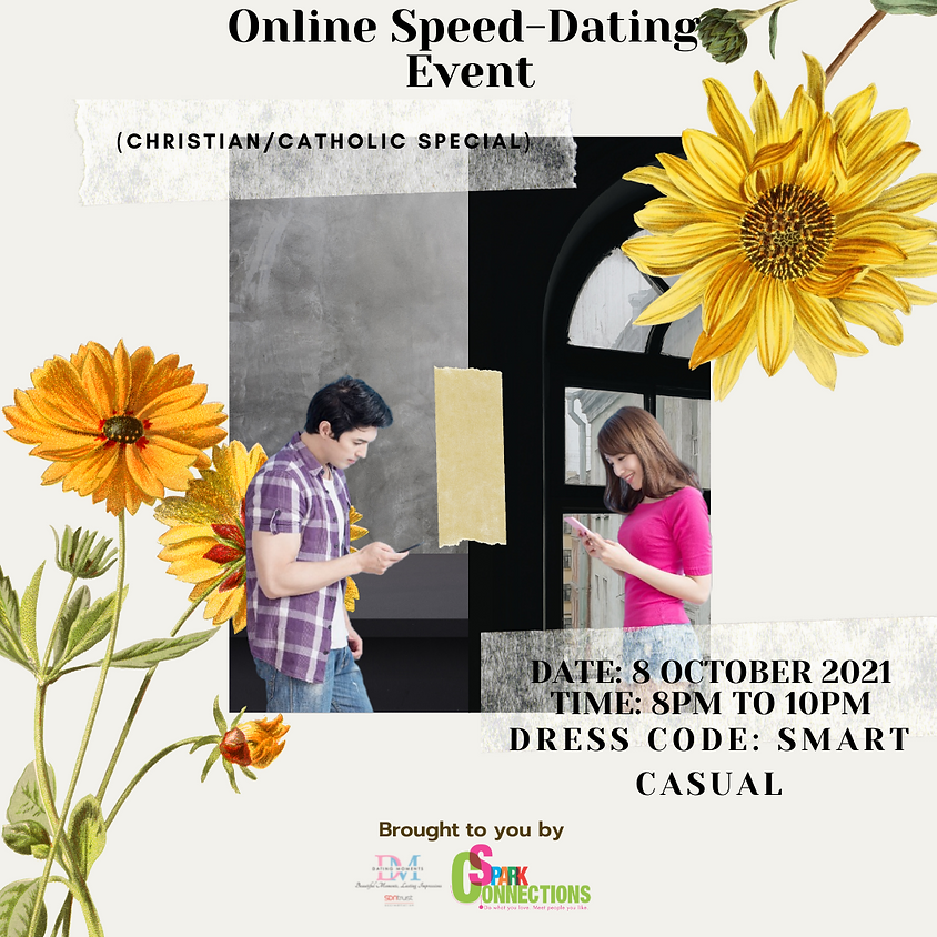 Online Speed-Dating Event (Christian/Catholic Special) (CALLING FOR LADIES)