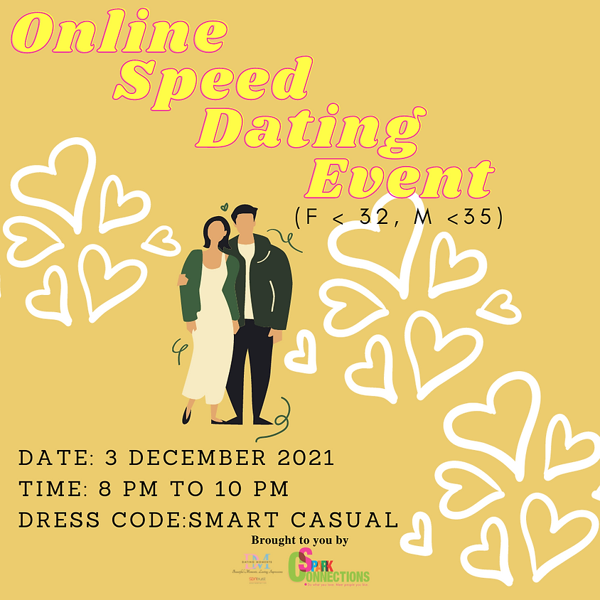 Online Speed-Dating Event! (F < 32, M <35)