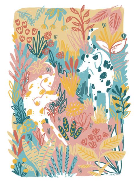 Colourful Dalmatians