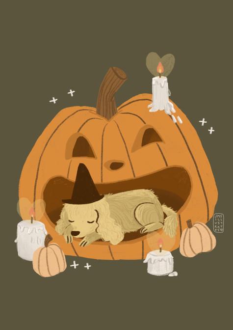 Pumpkin Pup 2 Jennifer Mae Spooner