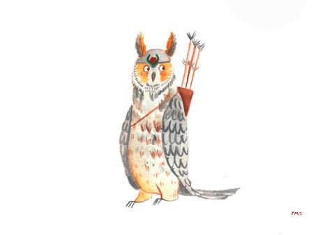 #CarnivalRumble2020 Owl Character