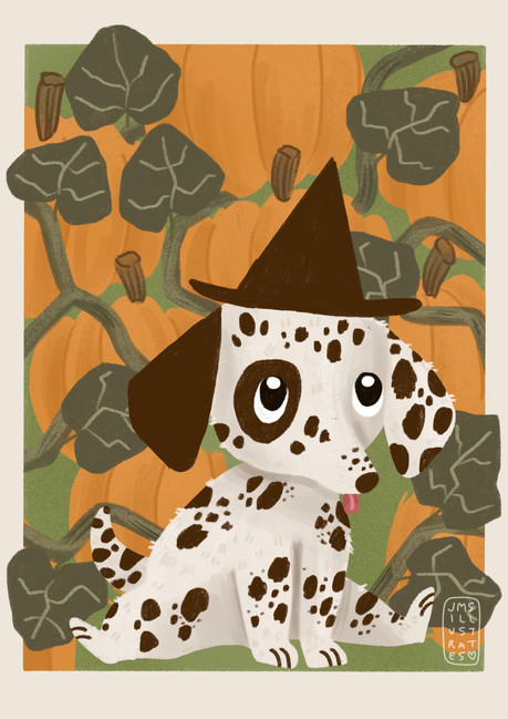 Pumpkin Pup Jennifer Mae Spooner