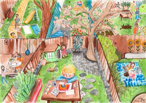 UK In The Garden Jennifer Mae Spooner