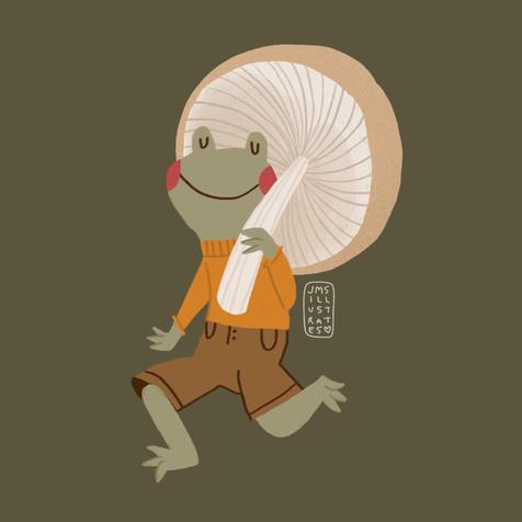 Autumn Froggo Jennifer Mae Spooner