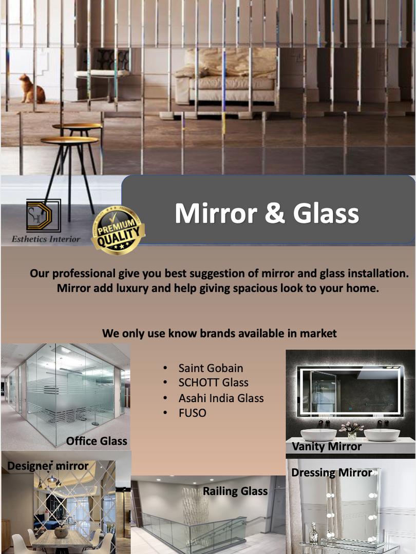 Mirror & Glass Work