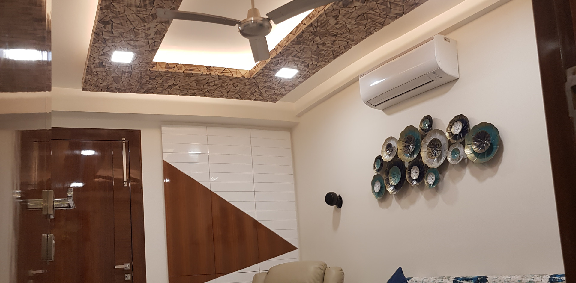 Hard wood Ceiling