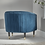 Thumbnail: Fluted Velvet Chair