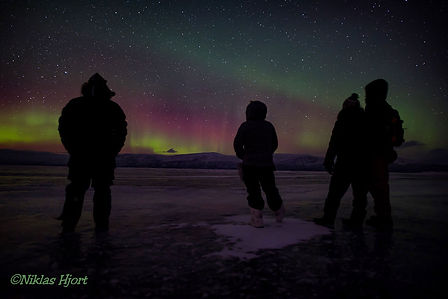 Backpacking.cz - Abisko Lapland Norrbotten Northern Lights
