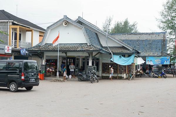 Bangsal prodejna lístků - Gili Meno a Trawangan