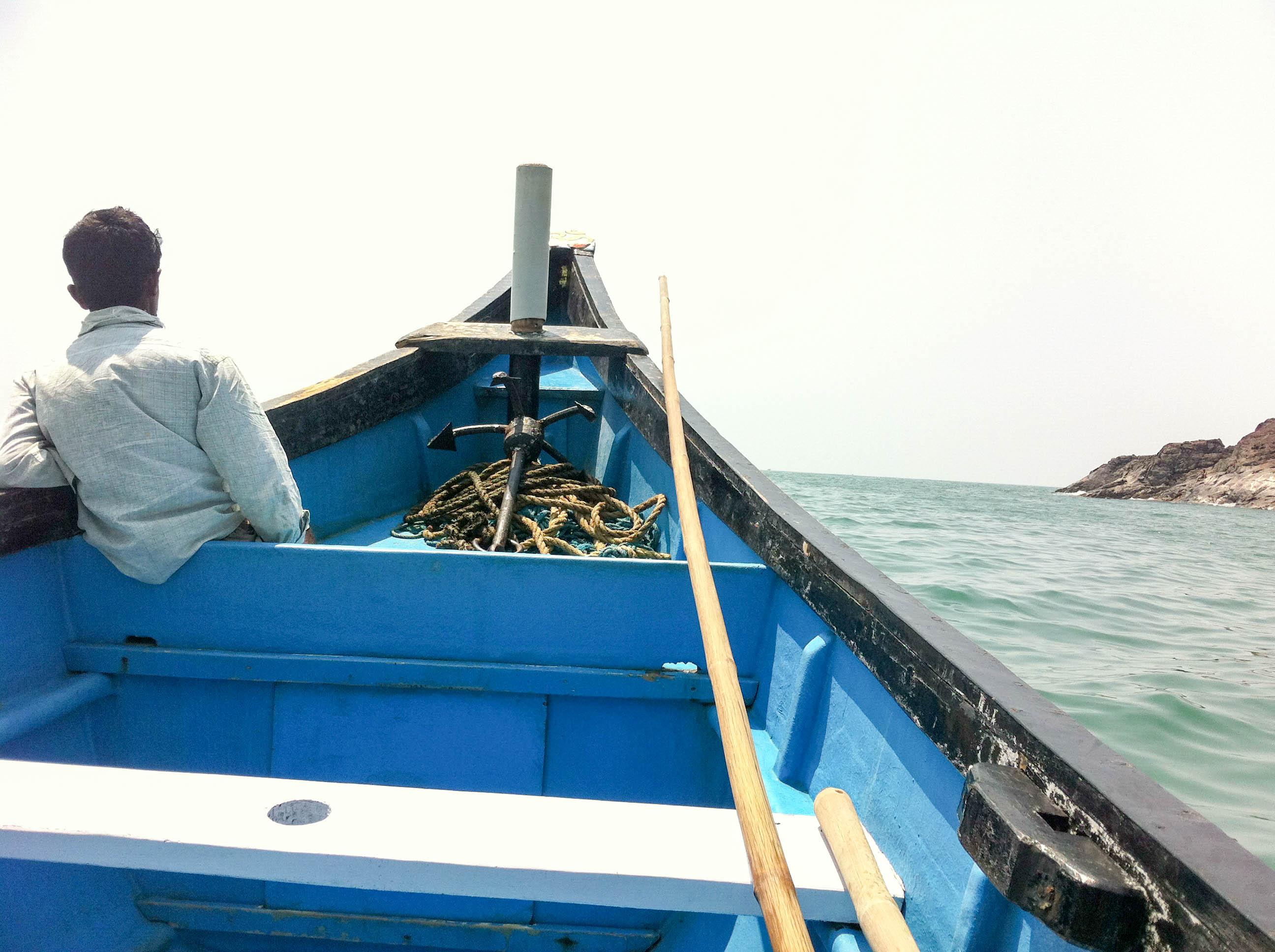 Boat ride, Gokarna