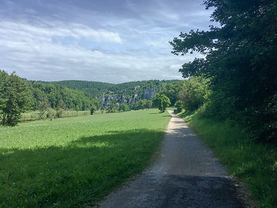 Backpacking.cz: EV6 - kouse za Gutenstein