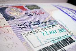 Turistické vízum do Indonésie
