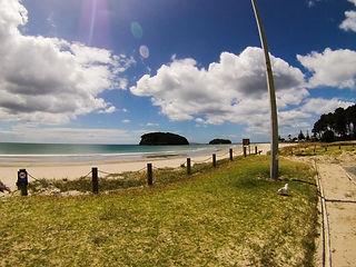 Whangamata Beach Novy Zeland