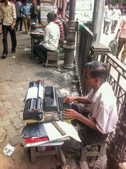 Přepisování úředních spisů, Kalkata