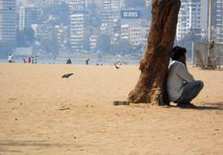 Pláž Girgaon Chowpatty, Mumbai