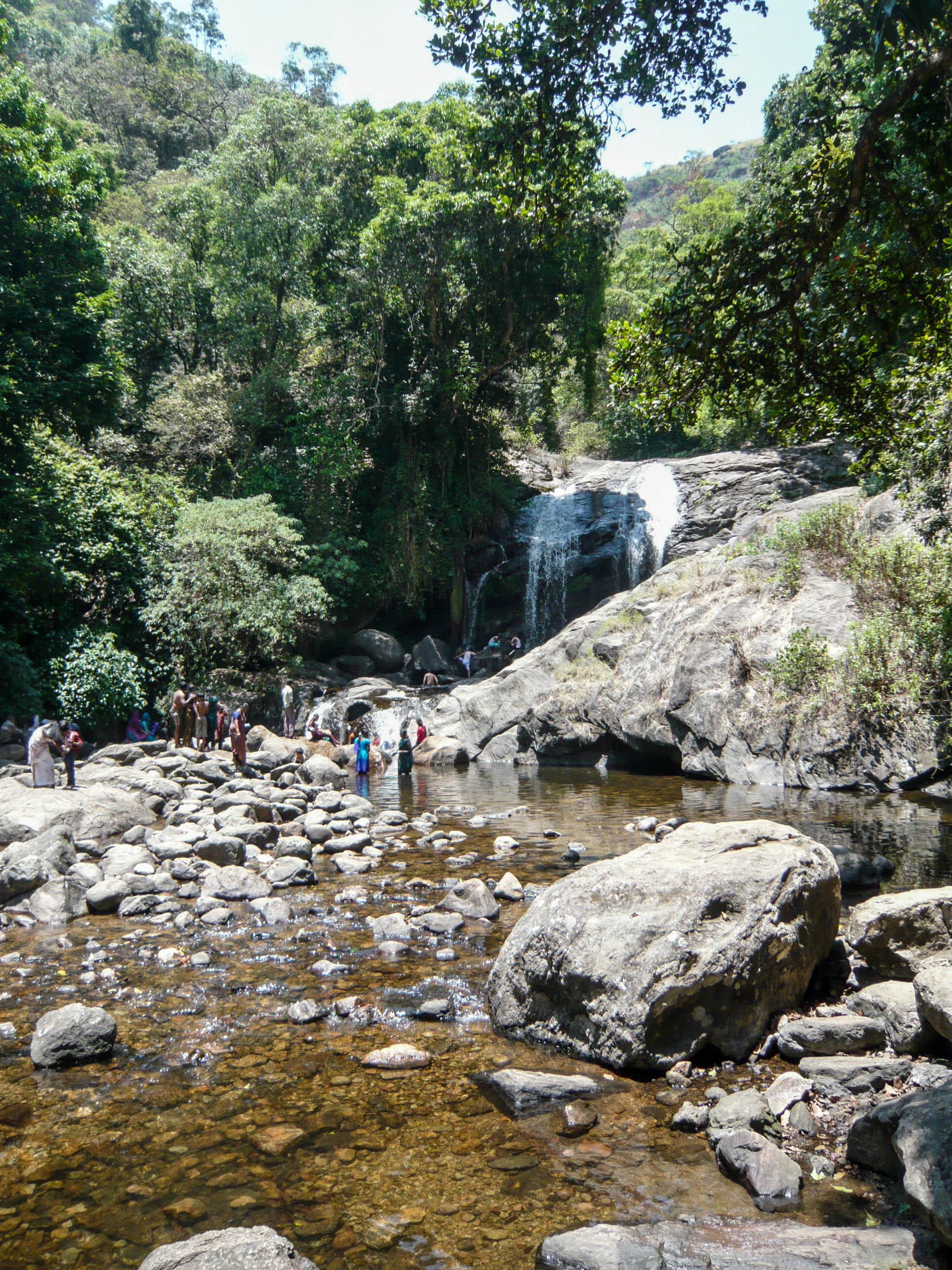 Lakkam Waterfalls, Munnar