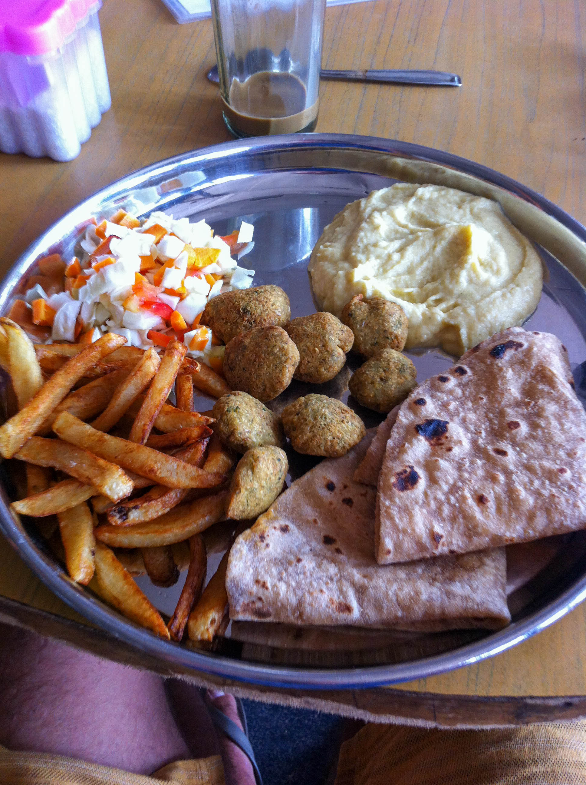 Falafel at Raja´s Roof