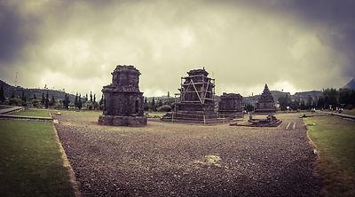 Arjuna temple Dieng