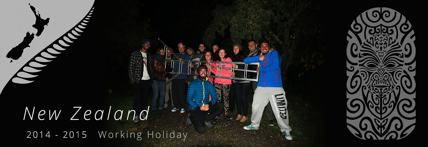 Jorge Necesario - Backpacking.cz: Working Holiday New Zealand
