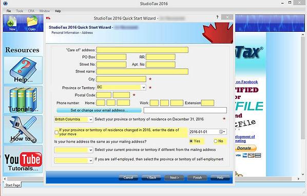 Vraceni dani z Kanady - Tax return Canada