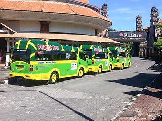 Public transport Kuta - Ubud - Kura Kura