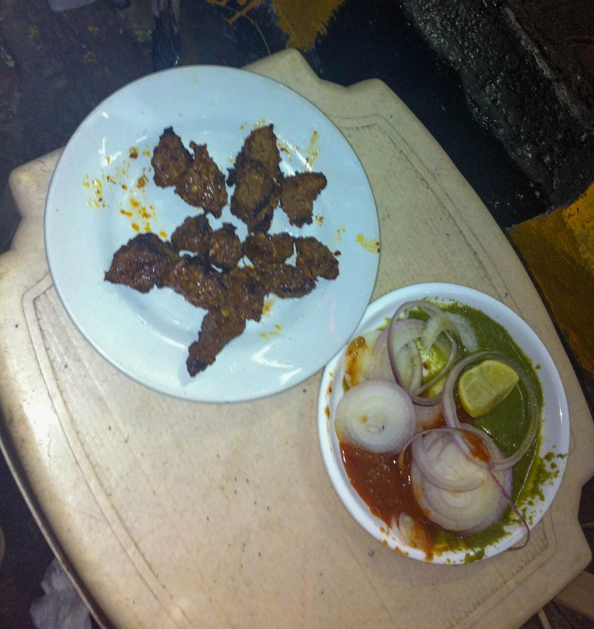 Street food, kebab, Mumbai