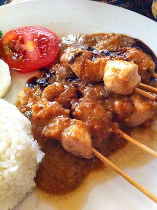 Indonéská kuchyně: Satay